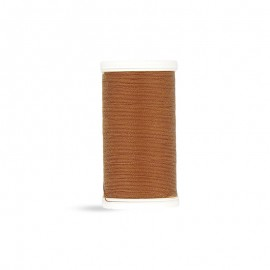 Polyester Laser sewing thread - camel - 100m