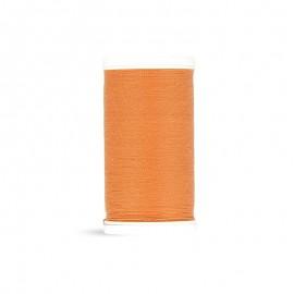 Fil à coudre Laser polyester - abricot - 100m