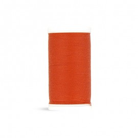 Polyester Laser sewing thread - orange red - 100m