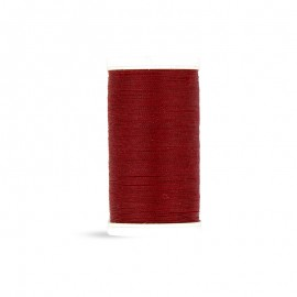 Polyester Laser sewing thread - burgundy - 100m