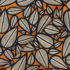 Tissu toile de coton Thevenon Lima - cumin x 50cm