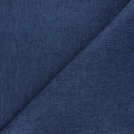 Tissu natté Thevenon Bellini - bleu marine x 10cm