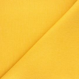 Tissu natté Thevenon Bellini - mangue x 10cm
