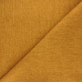 Tissu natté Thevenon Bellini - ocre x 10cm