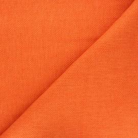 Tissu natté Thevenon Bellini - orange x 10cm
