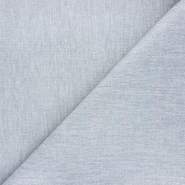 Tissu natté Thevenon Bellini - gris perle x 10cm