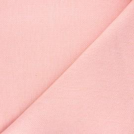 Tissu natté Thevenon Bellini - rose girlie x 10cm