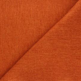 Tissu natté Thevenon Bellini - terre d'ocre x 10cm