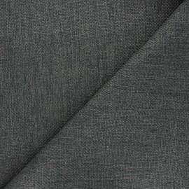 Tissu natté Thevenon Bellini - aluminium x 10cm