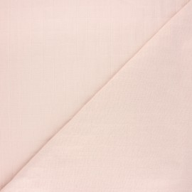 France Duval quilted cotton fabric - pale pink Tayio x 10cm