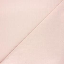 Tissu coton matelassé France Duval Tayio - rose pâle x 10cm