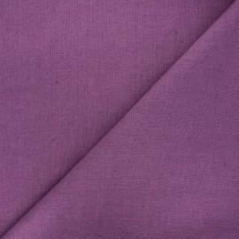 Tissu lin lavé Thevenon - raisin x 10cm