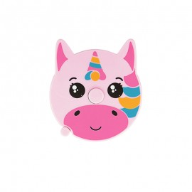 Retractable measuring tape - pink Unicorn