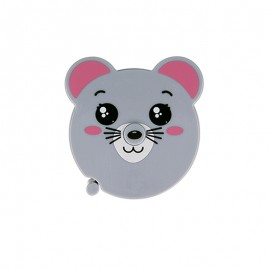 Retractable measuring tape - grey Mouse