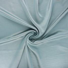 Tissu satin froissé - sarcelle x 10cm