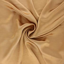 Tissu satin froissé - vieil or x 10cm