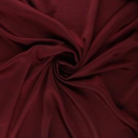 Tissu satin froissé - bordeaux x 10cm