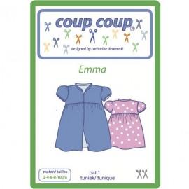 """Patron Coup Coup - Tunique enfant """"Emma"""""""