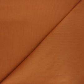Tissu velours milleraies 200gr/ml - roux x10cm