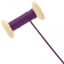 3 mm Double Sided Satin Ribbon Roll - Sloe Purple