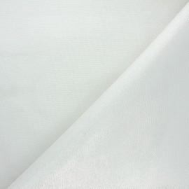 Tissu pailleté texturé Mermaidia - argent x 10cm
