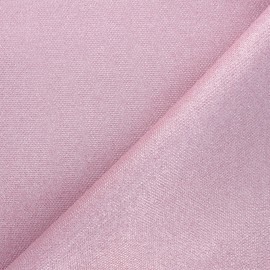 Textured polyester fabric - pearl white Mermaidia x10cm
