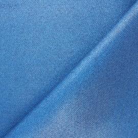Tissu pailleté texturé Mermaidia - beige doré x 10cm