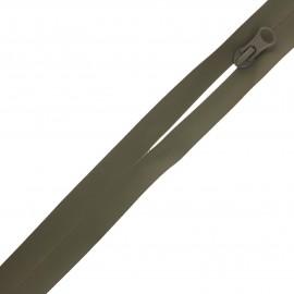 Fermeture à glissière waterproof au mètre Basic - vert kaki