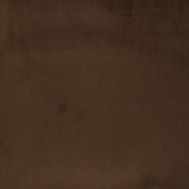 Tissu velours Brunei - chocolat x 10cm