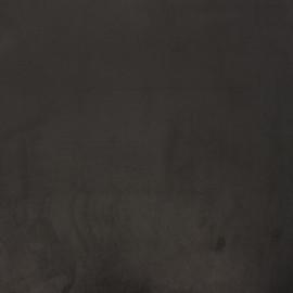 Tissu velours Brunei - réglisse x 10cm