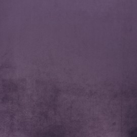 Tissu velours Brunei - violet d'évêque x 10cm