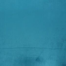 Tissu velours Brunei - turquoise x 10cm
