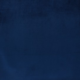 Tissu velours Brunei - bleu navy x 10cm
