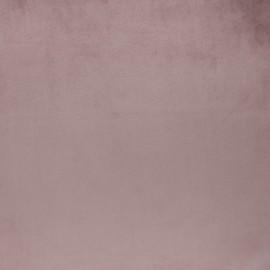 Brunei velvet fabric - mauve x 10cm