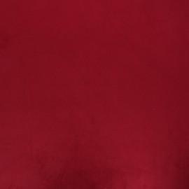 tissu velours brunei pourpre x 10cm