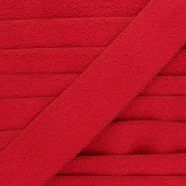 45 mm sponge elastic ribbon - red x 50cm