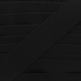 45 mm sponge elastic ribbon - black x 50cm