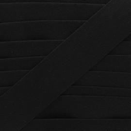 Ruban élastique éponge 45 mm - noir x 50cm