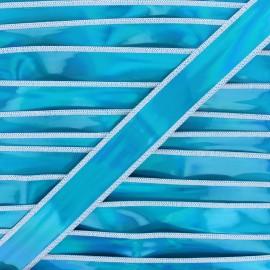 Ruban holographique Galaxa 25 mm - bleu x 50cm