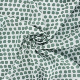 Viscose fabric - khaki green Marilyn x 10cm