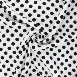 Viscose fabric - white Bettie x 10cm