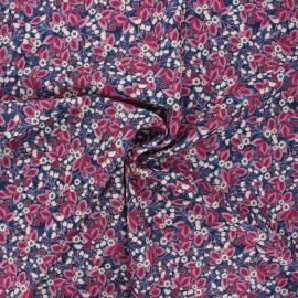 Tissu crêpe Atelier 27 Clarisse - violine x 10cm