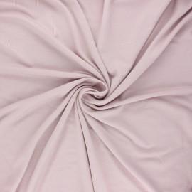 Tissu jersey viscose Anaya - rose poudré x 10 cm