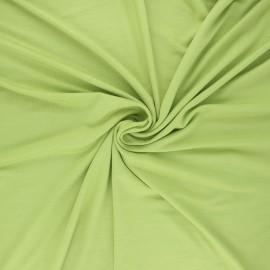 Tissu jersey viscose Anaya - vert x 10 cm