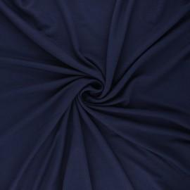 Tissu jersey viscose Anaya - bleu nuit x 10 cm