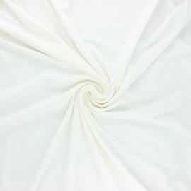Tissu jersey viscose Anaya - écru x 10 cm