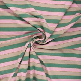 Tissu jersey viscose Brillanti - vert foncé x 10 cm