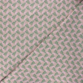 Tissu maille viscose lurex Sweet Brillanti - vert foncé x 10cm