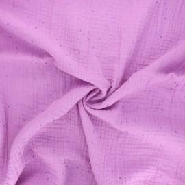 Tissu double gaze de coton Rico Design Transformation B - glycine x 10cm