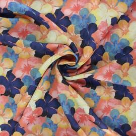 Tissu lin viscose La Maison Victor Garden party - multicolore x 10 cm